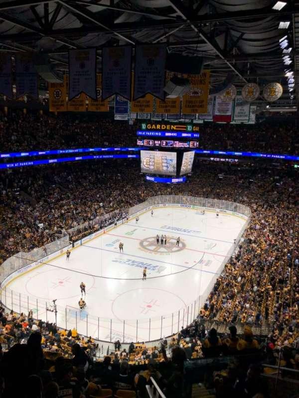 TD Garden, sección: BAL 322, fila: 10, asiento: 2