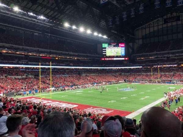 Lucas Oil Stadium, sección: 148, fila: 29N, asiento: 35