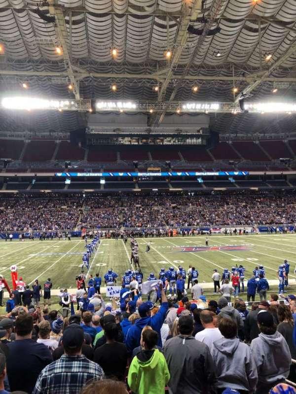 The Dome at America's Center, sección: 142, fila: N, asiento: 5