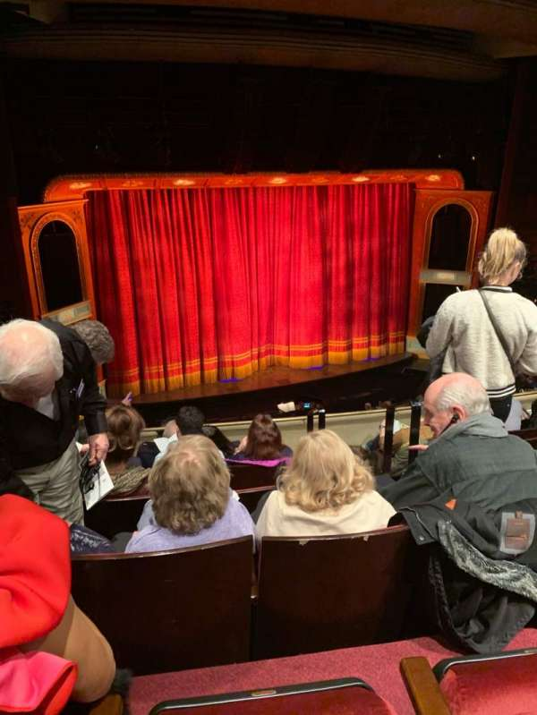 Marquis Theatre, sección: Mezzanine L, fila: F, asiento: 7