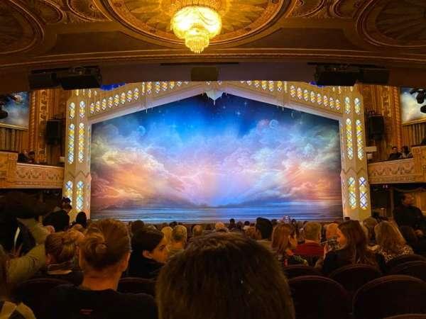 Eugene O'Neill Theatre, sección: Orchestra C, fila: Q, asiento: 108