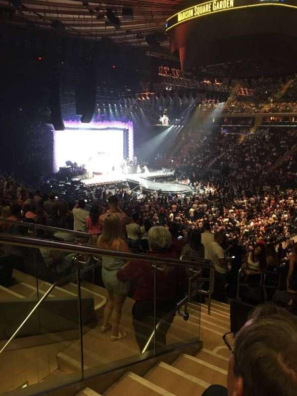 Madison Square Garden, sección: 119, fila: 22, asiento: 7