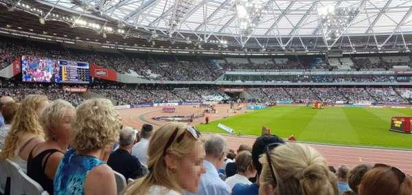 London Stadium, sección: 133, fila: 16, asiento: 341