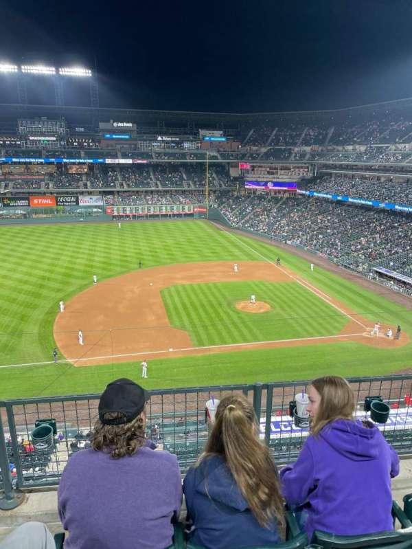 Coors Field, sección: L342, fila: 2, asiento: 8