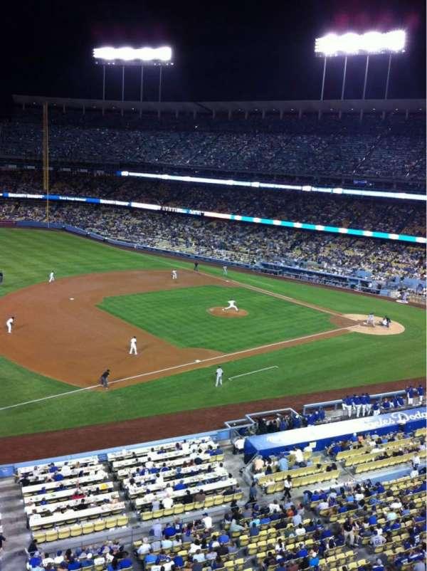 Dodger Stadium, sección: 27RS, fila: A, asiento: 19