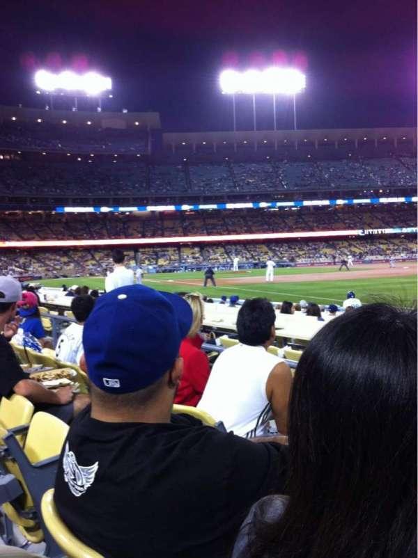 Dodger Stadium, sección: 42FD, fila: C, asiento: 3