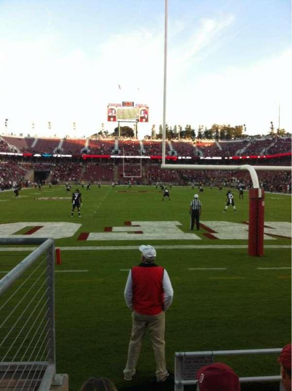 Stanford Stadium, sección: 123, fila: B, asiento: 21