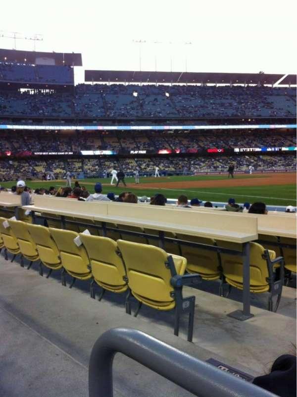 Dodger Stadium, sección: 38FD, fila: A, asiento: 2