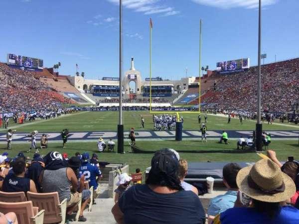Los Angeles Memorial Coliseum, sección: 15H, fila: 13, asiento: 101