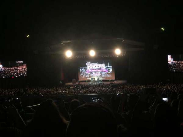 The Greek Theatre, sección: B, fila: H, asiento: 108