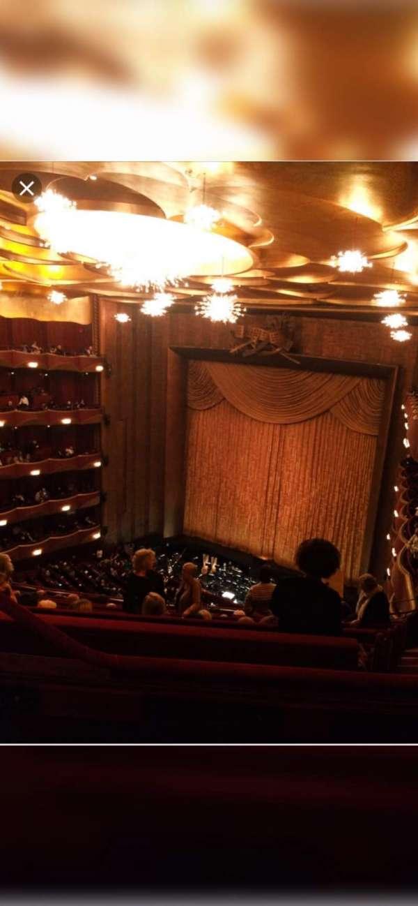 Metropolitan Opera House - Lincoln Center, sección: Balcony, fila: L, asiento: 5