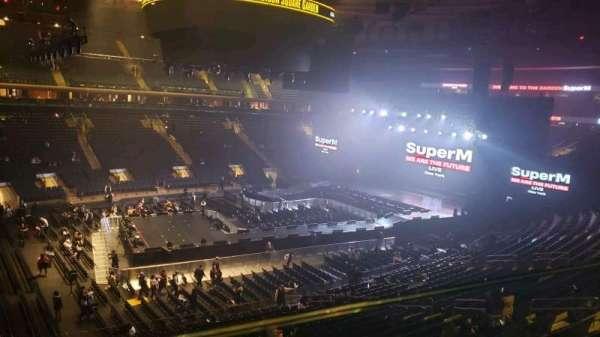 Madison Square Garden, sección: 209, fila: 1, asiento: 12