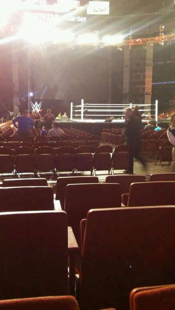 Honda Center, sección: 202, fila: EE, asiento: 5