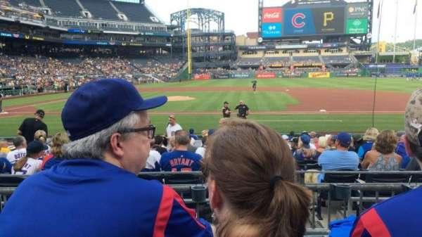 PNC Park, sección: 110, fila: C, asiento: 11