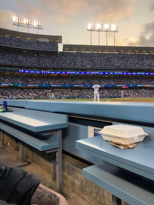 Dodger Stadium, sección: 30BL, fila: 1, asiento: 2