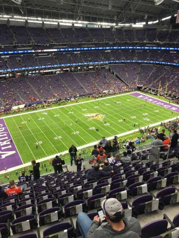 U.S. Bank Stadium, sección: 345, fila: 14, asiento: 11