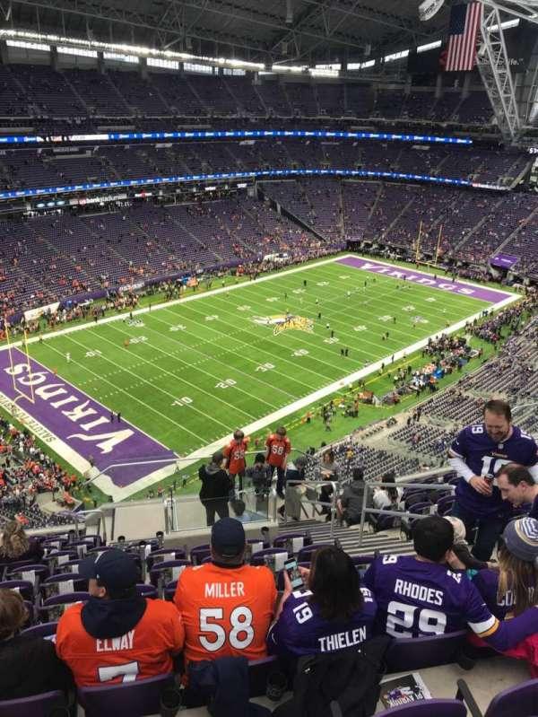 U.S. Bank Stadium, sección: 348, fila: 12, asiento: 5