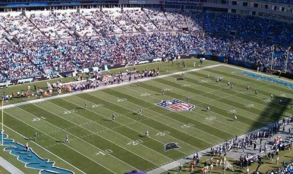 Bank of America Stadium, sección: 551