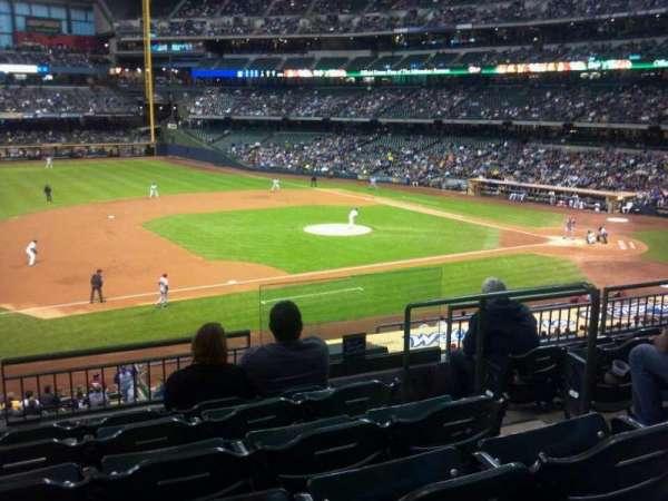 Miller Park, sección: 226, fila: 6, asiento: 6