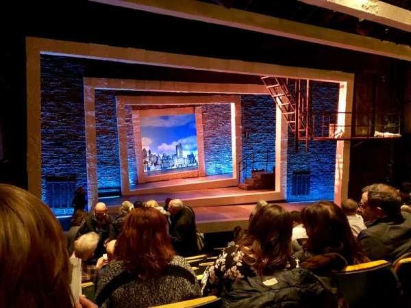 Tony Kiser Theatre, sección: Orchestra, fila: J, asiento: 6