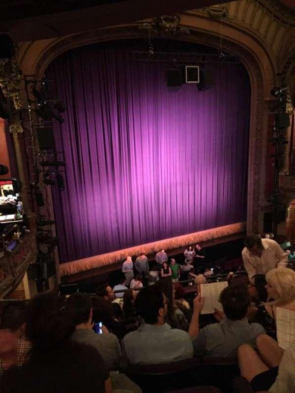 Lyceum Theatre (Broadway), sección: Mezzanine L, fila: G, asiento: 13