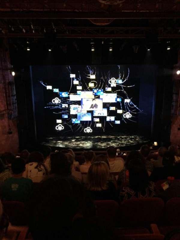 August Wilson Theatre, sección: Mezzanine C, fila: G, asiento: 111
