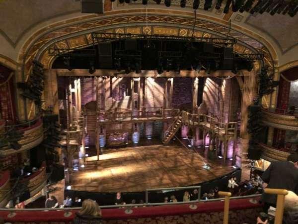 Richard Rodgers Theatre, sección: Front Mezzanine L, fila: E, asiento: 7