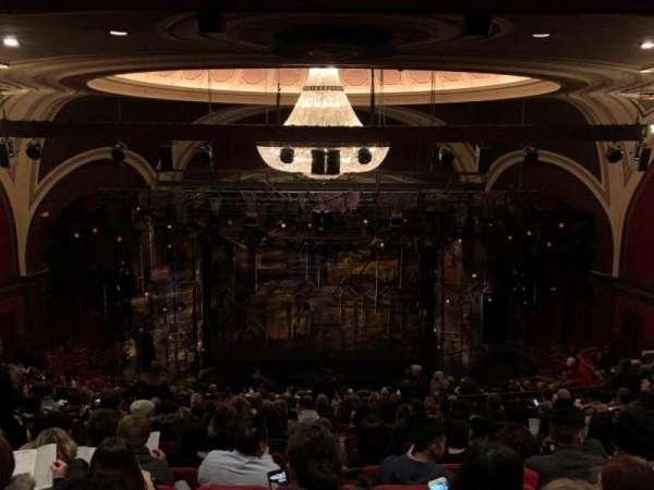 Broadway Theatre - 53rd Street, sección: Rear Mezzanine C, fila: Q, asiento: 107