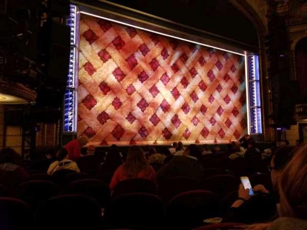 Brooks Atkinson Theatre, sección: ORCH, fila: K, asiento: 13