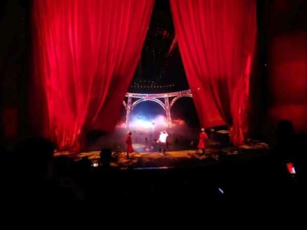 O Theatre, sección: 103, fila: F, asiento: 7