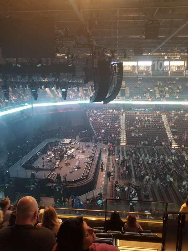 Mohegan Sun Arena, sección: 119, fila: H, asiento: 3