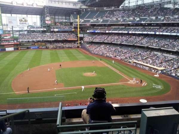 Miller Park, sección: 339, fila: 5, asiento: 10