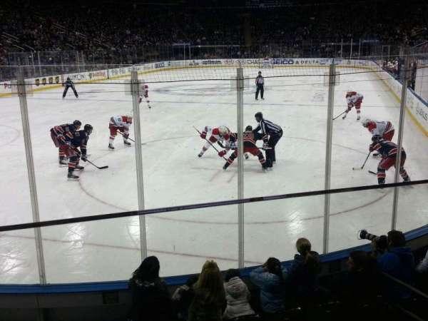 Madison Square Garden, sección: 103, fila: 6, asiento: 11