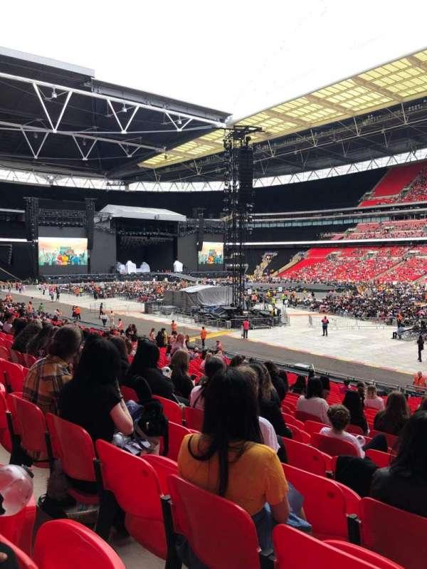 Wembley Stadium, sección: 118, fila: 27, asiento: 202