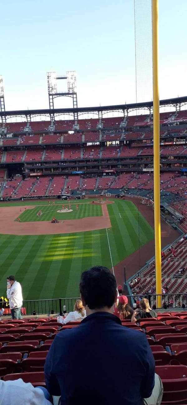 Busch Stadium, sección: 271, fila: 11, asiento: 9