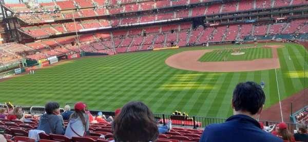 Busch Stadium, sección: 271, fila: 11, asiento: 10