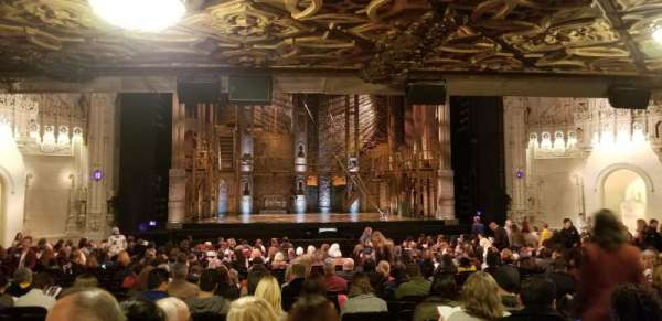 Orpheum Theatre (San Francisco), sección: LC, fila: BB, asiento: 109