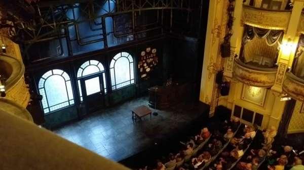 Wyndham's Theatre, sección: Grand Circle, fila: A, asiento: 29