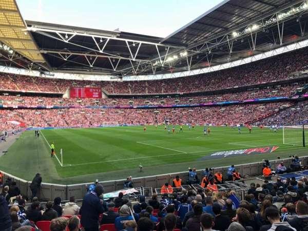Wembley Stadium, sección: 137, fila: 15, asiento: 90
