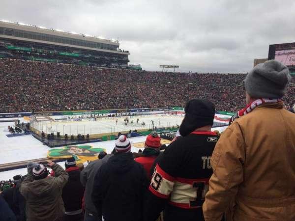 Notre Dame Stadium, sección: 32, fila: 53, asiento: 1
