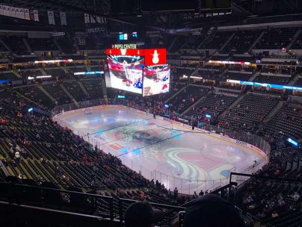 Ball Arena, sección: 332, fila: 8, asiento: 1
