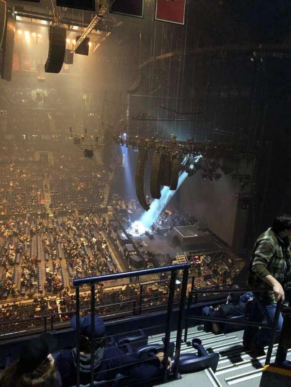 Bridgestone Arena, sección: 310, fila: F, asiento: 1