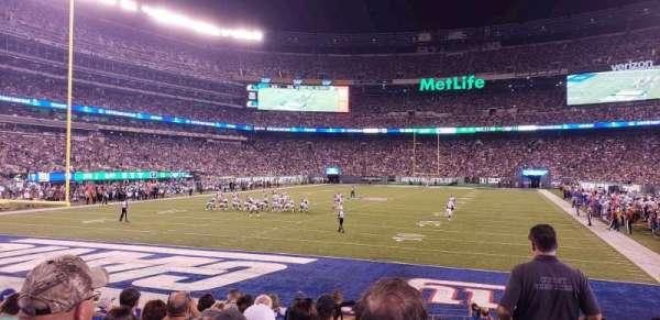 MetLife Stadium, sección: 149, fila: 10, asiento: 1