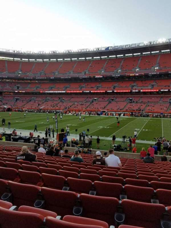 FirstEnergy Stadium, sección: 111, fila: 18, asiento: 14