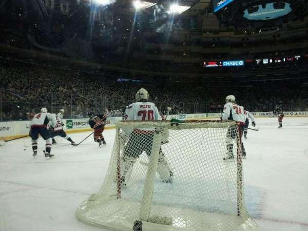 Madison Square Garden, sección: 8, fila: AA, asiento: 14