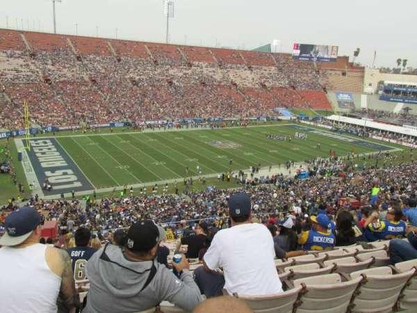 Los Angeles Memorial Coliseum, sección: 10H, fila: 70, asiento: 103
