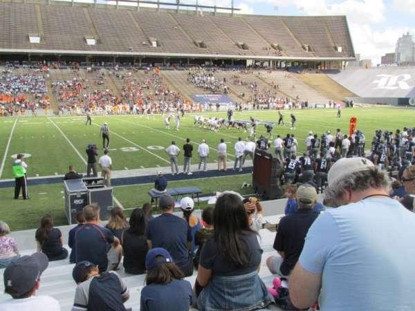 Rice Stadium, sección: 106, fila: 17, asiento: 10