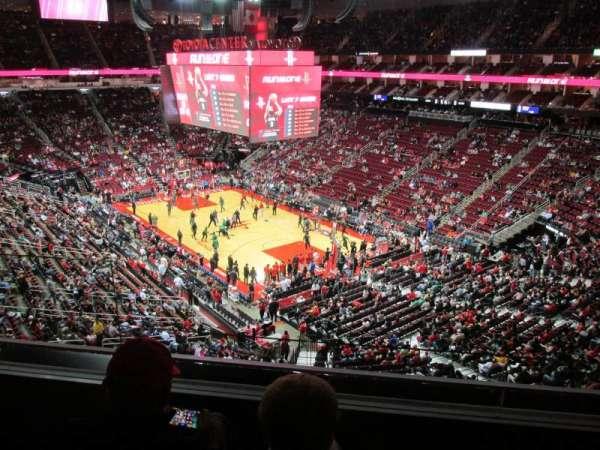 Toyota Center, sección: 421, fila: 3, asiento: 11