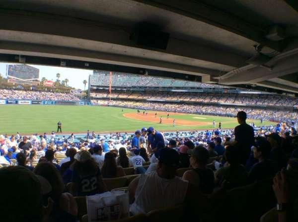 Dodger Stadium, sección: 41FD, fila: X, asiento: 8