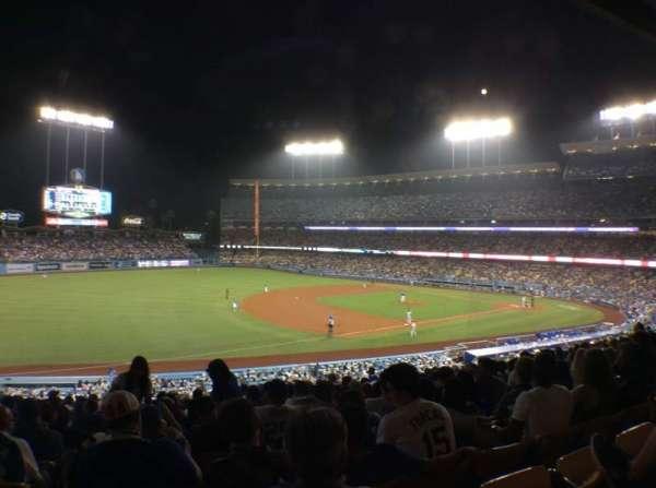 Dodger Stadium, sección: 147LG, fila: O, asiento: 8